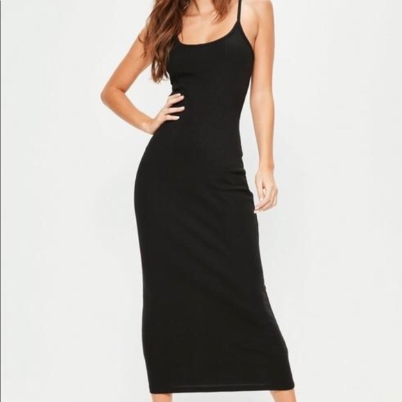 663dc0b532a758 Missguided Dresses | Strappy Bodycon Maxi Dress | Poshmark